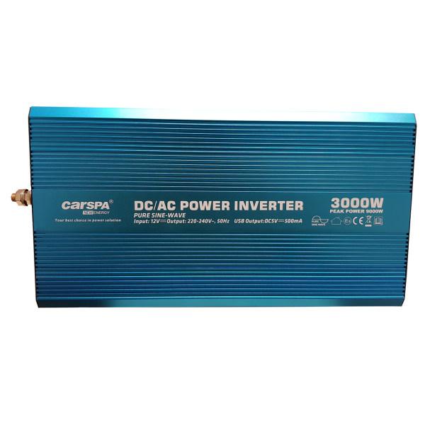 مبدل برق خودرو کارسپا مدل P3000U-12