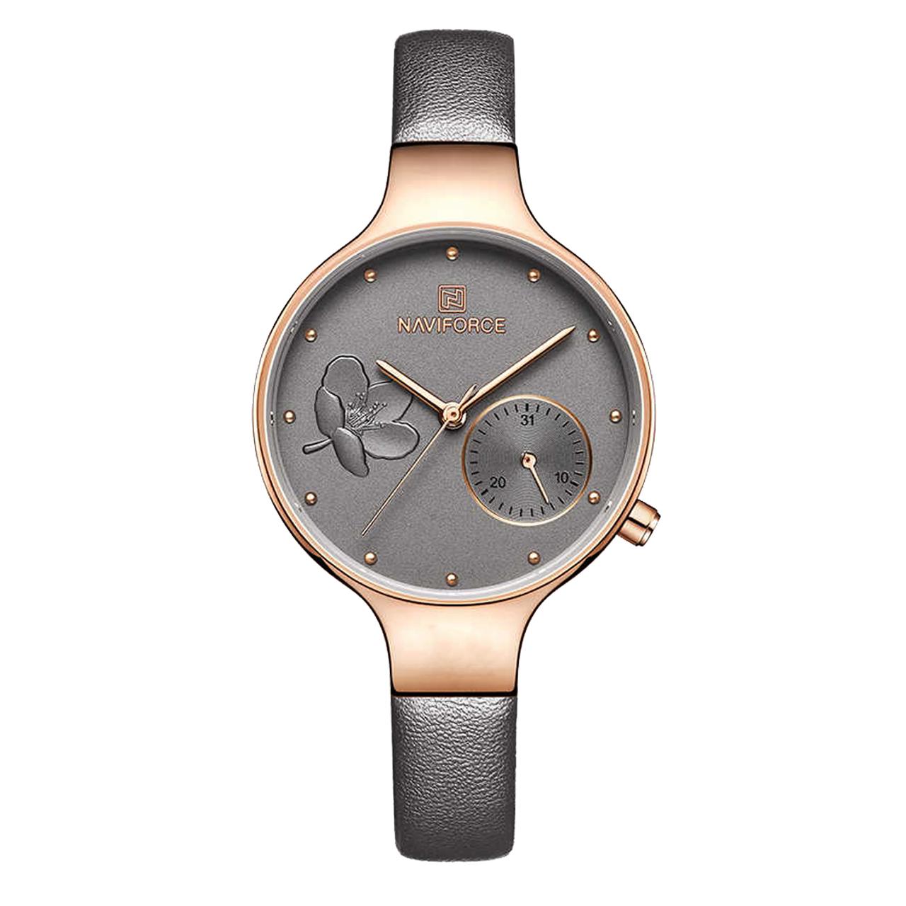 ساعت مچی عقربه ای زنانه نیوی فورس مدل NF5001L