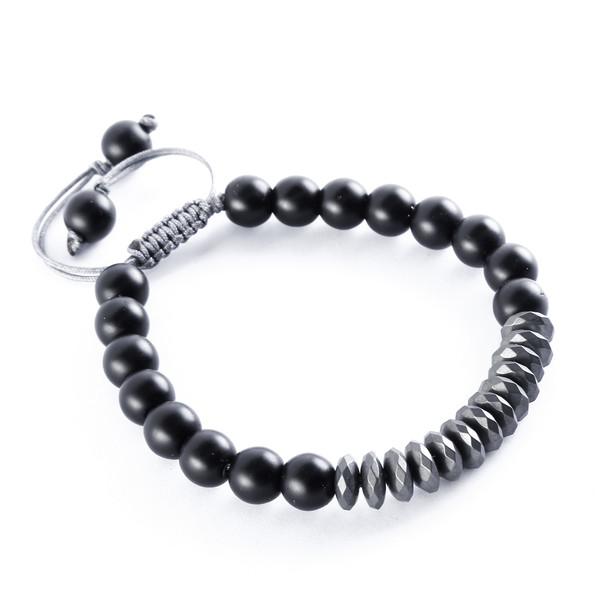 دستبند مردانه زیورآلات هـ مدل HmatiteHeOn01