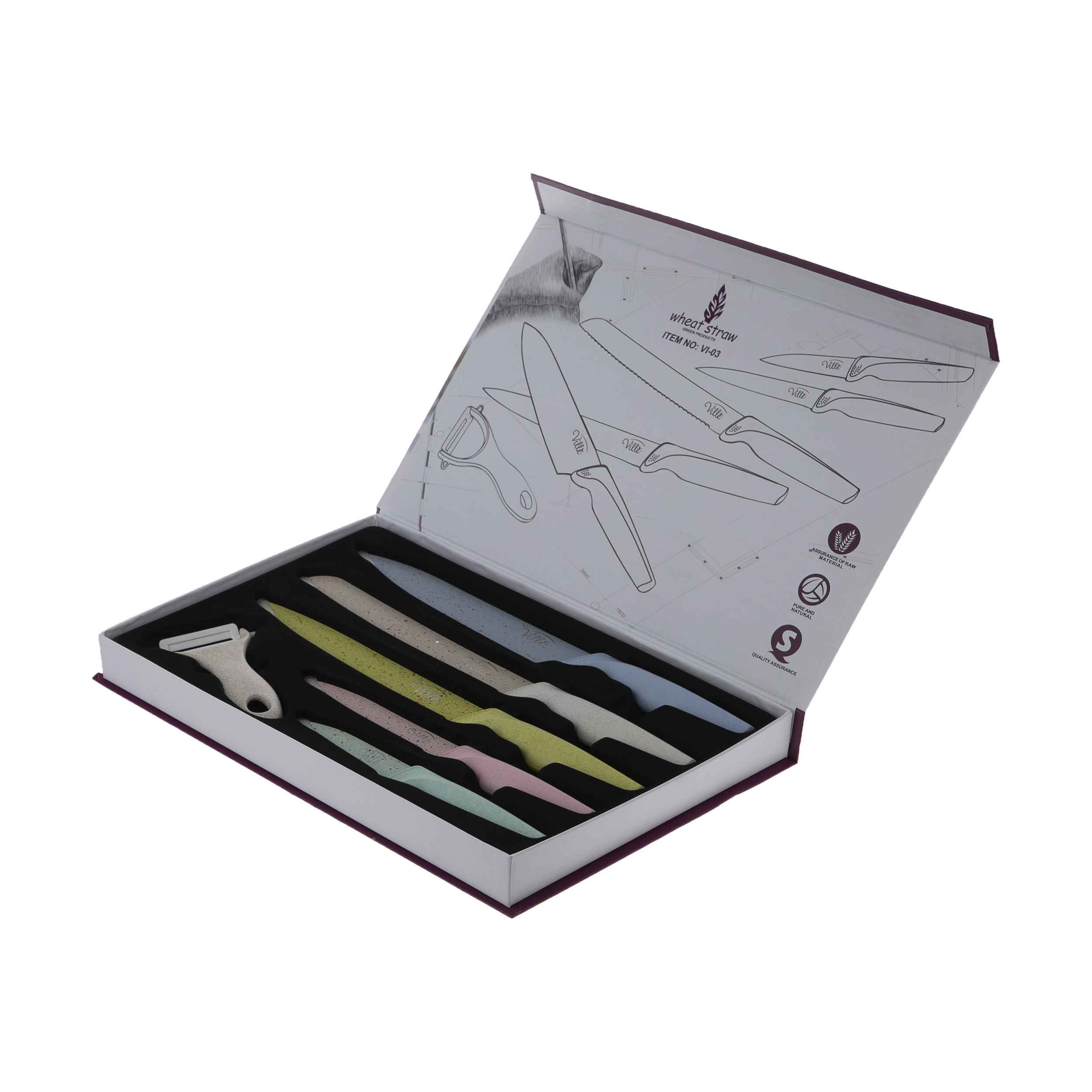 خرید ست چاقو 6 پارچه ویله مدل VI-03
