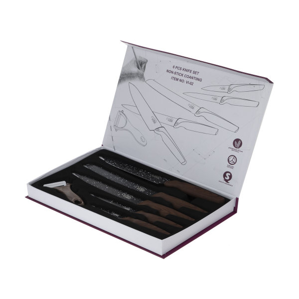 ست چاقو 6 پارچه ویله مدل VI-02