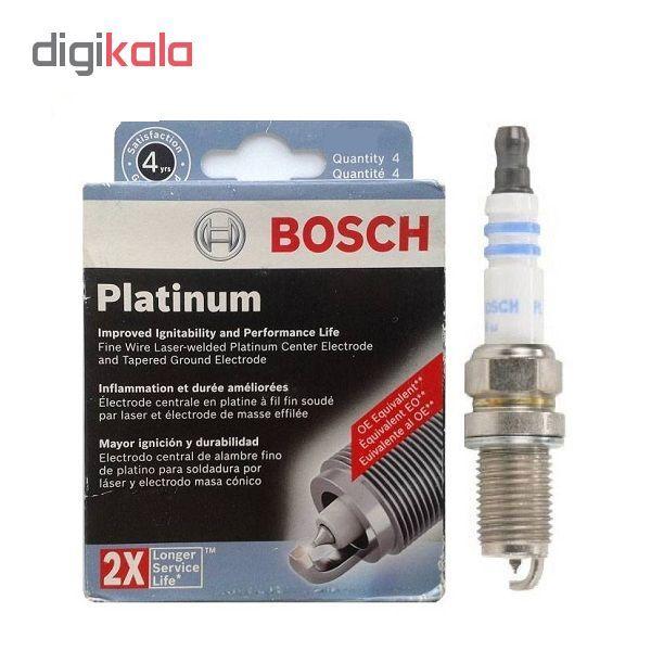 شمع خودرو بوش آلمان مدل Platinum 2X سوزنی بسته 4 عددی main 1 2
