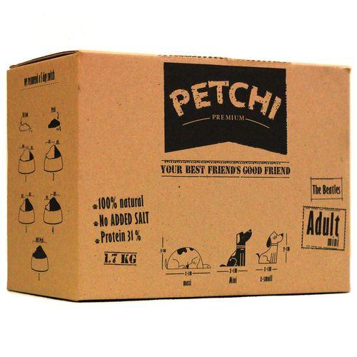غذای خشک سگ پتچی مدل Adult Mini وزن 1.7 کیلوگرم