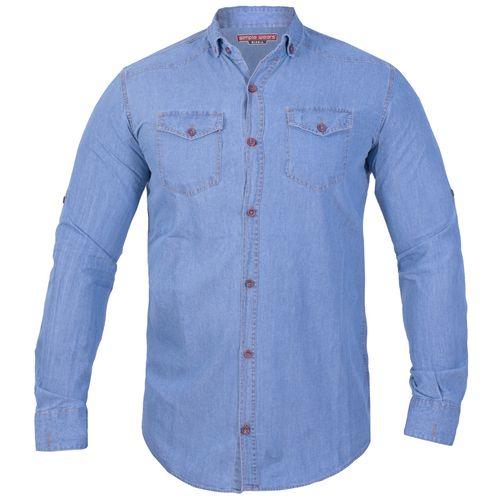 پیراهن جین مردانه سیمپل ورز مدل 05