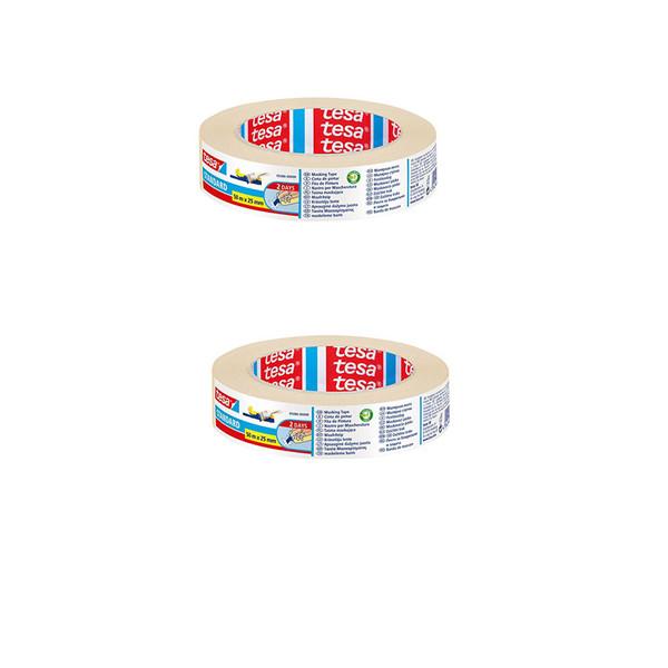 چسب کاغذی تزا مدل 5086 عرض 2.5سانتی متر  بسته 2 عددی