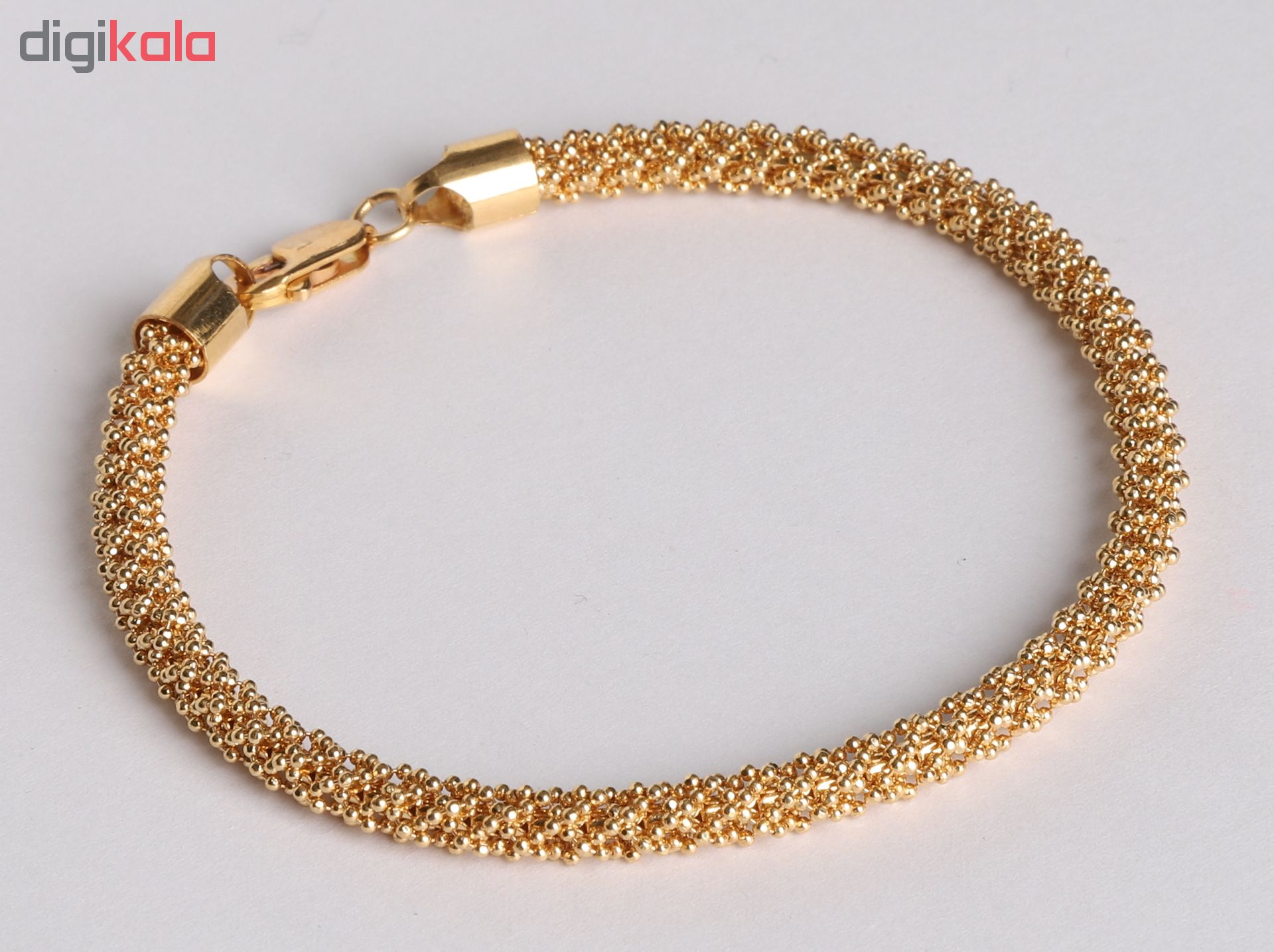 دستبند طلا 18 عیار گوی گالری مدل G182