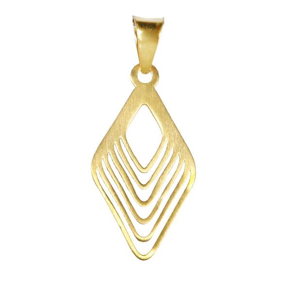 آویز گردنبند طلا 18 عیار اقلیمه کد VT370