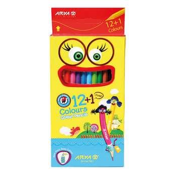 مداد رنگی 13رنگ آریا مدل 3016