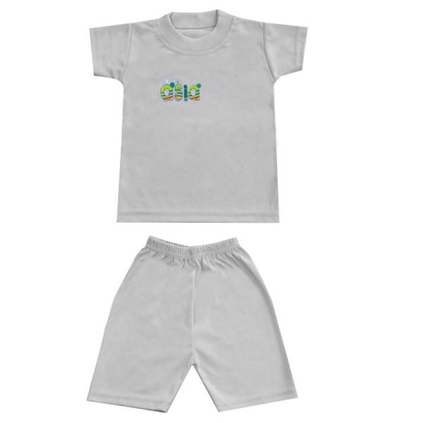 ست تی شرت و شلوارک پسرانه مدل 0_12