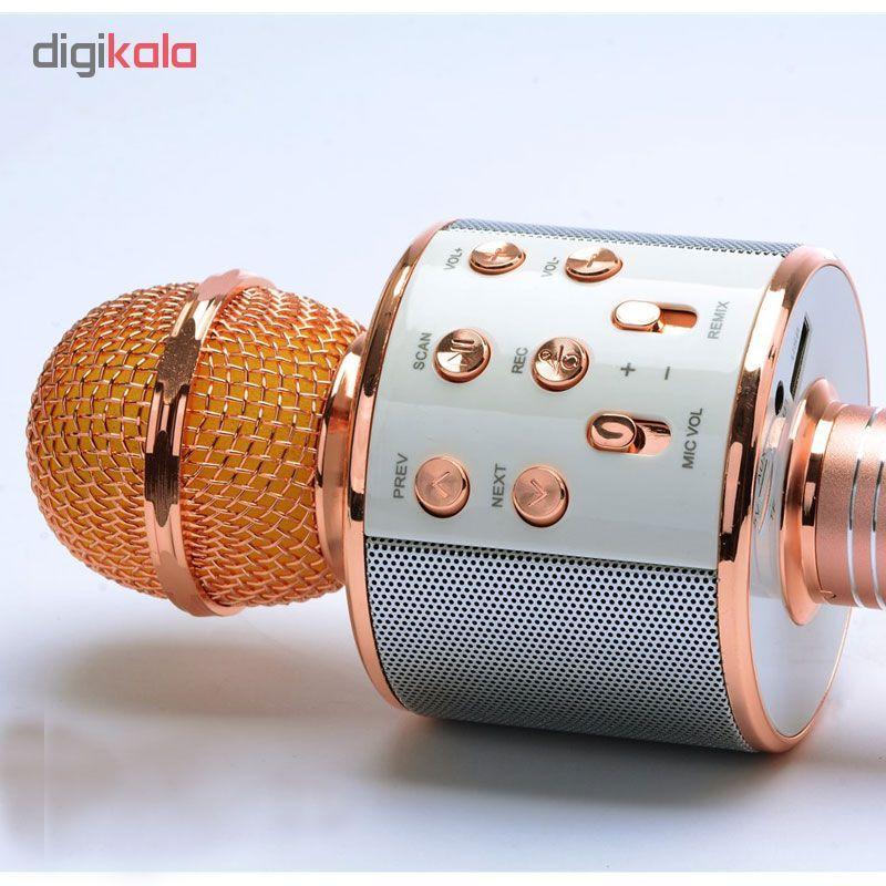 میکروفون اسپیکر وستر مدل WS-858  کد 3001378 main 1 1