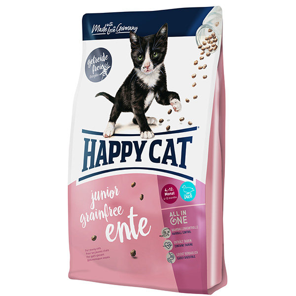 غذای خشک گربه هپی کت مدل Juniorente02 وزن 1.4 کیلوگرم