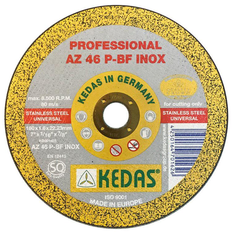 مجموعه 50 عددی صفحه سنگ برش استیل کداس آلمان KEDAS مدل KD-00162