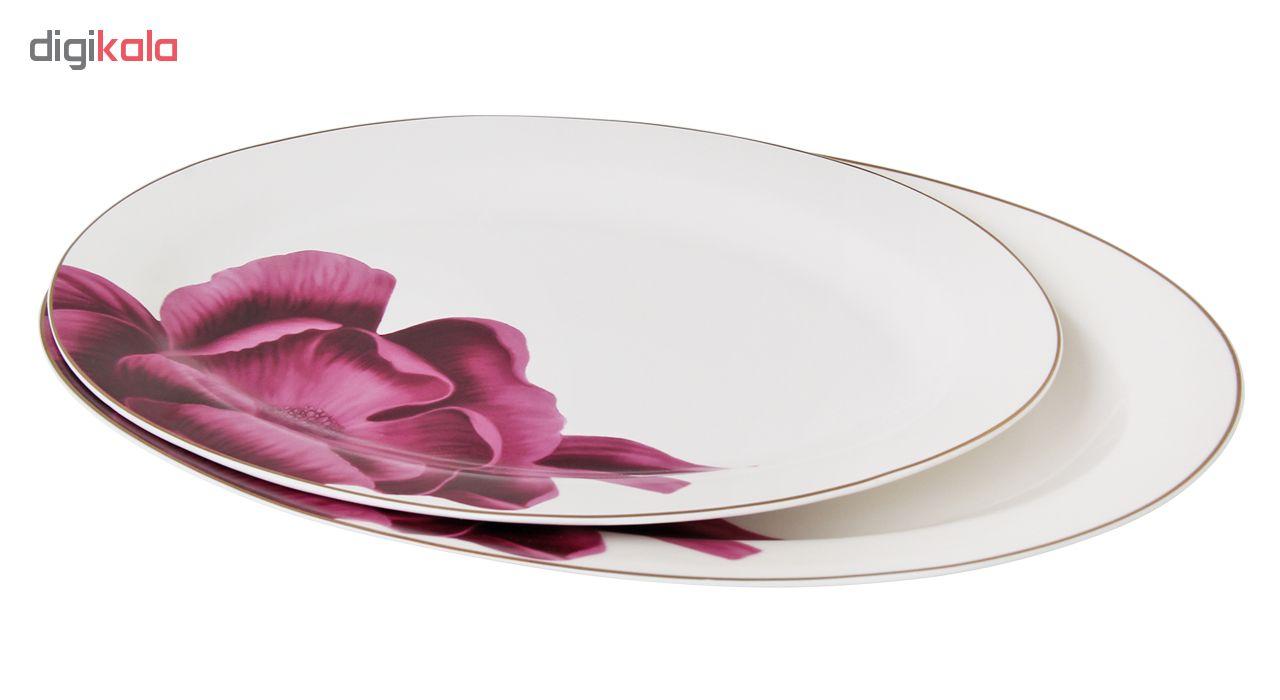 سرویس غذاخوری 141 پارچه اف ام مدل Single Flower آلمان 18 نفره کد 14034