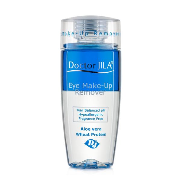 لوسیون دورچشم دکترژیلا مدل Eye Make up Remover حجم 125 میلی لیتر