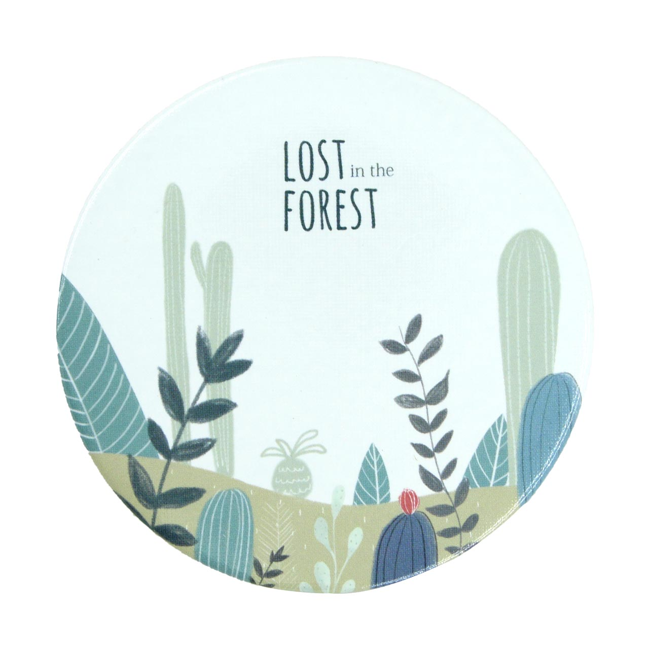 قیمت آینه جیبی طرح جنگل کد 1
