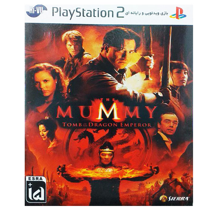 بازی The Mummy مخصوص ps2