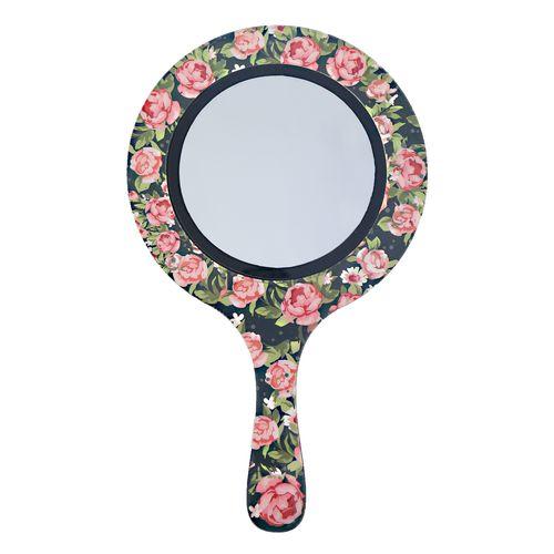 آینه آرایشی پرسناژ طرح گل مدل M04