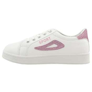 کفش راحتی زنانه اسپرت مدل Fla.wh.pnk-01