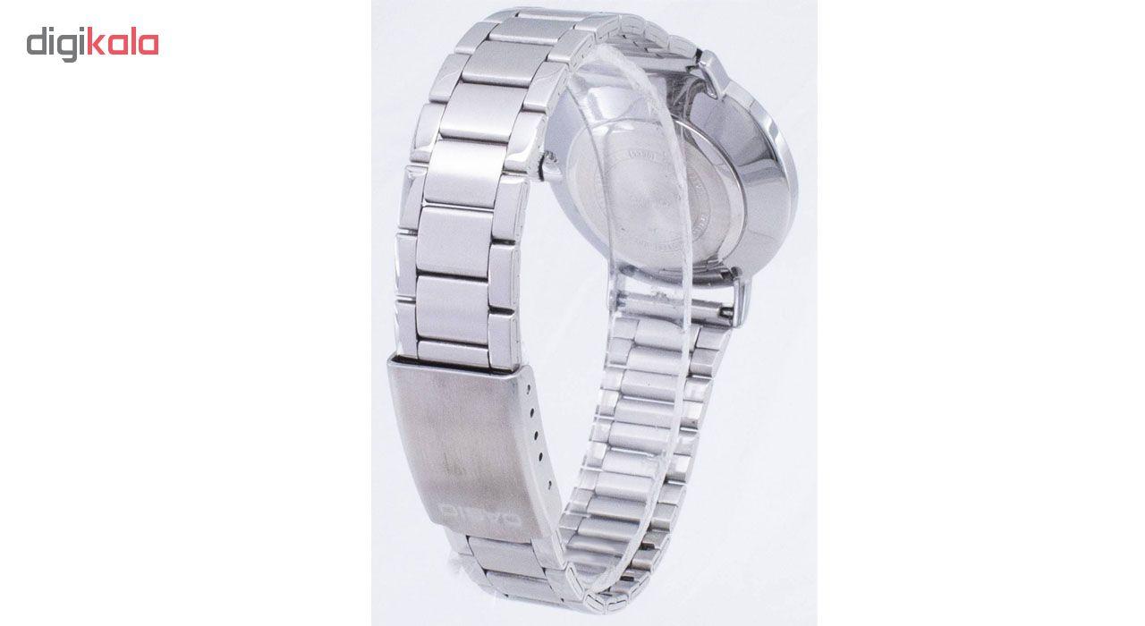 ساعت مچی عقربه ای زنانه کاسیو مدل LTP-VT01D-7BUDF