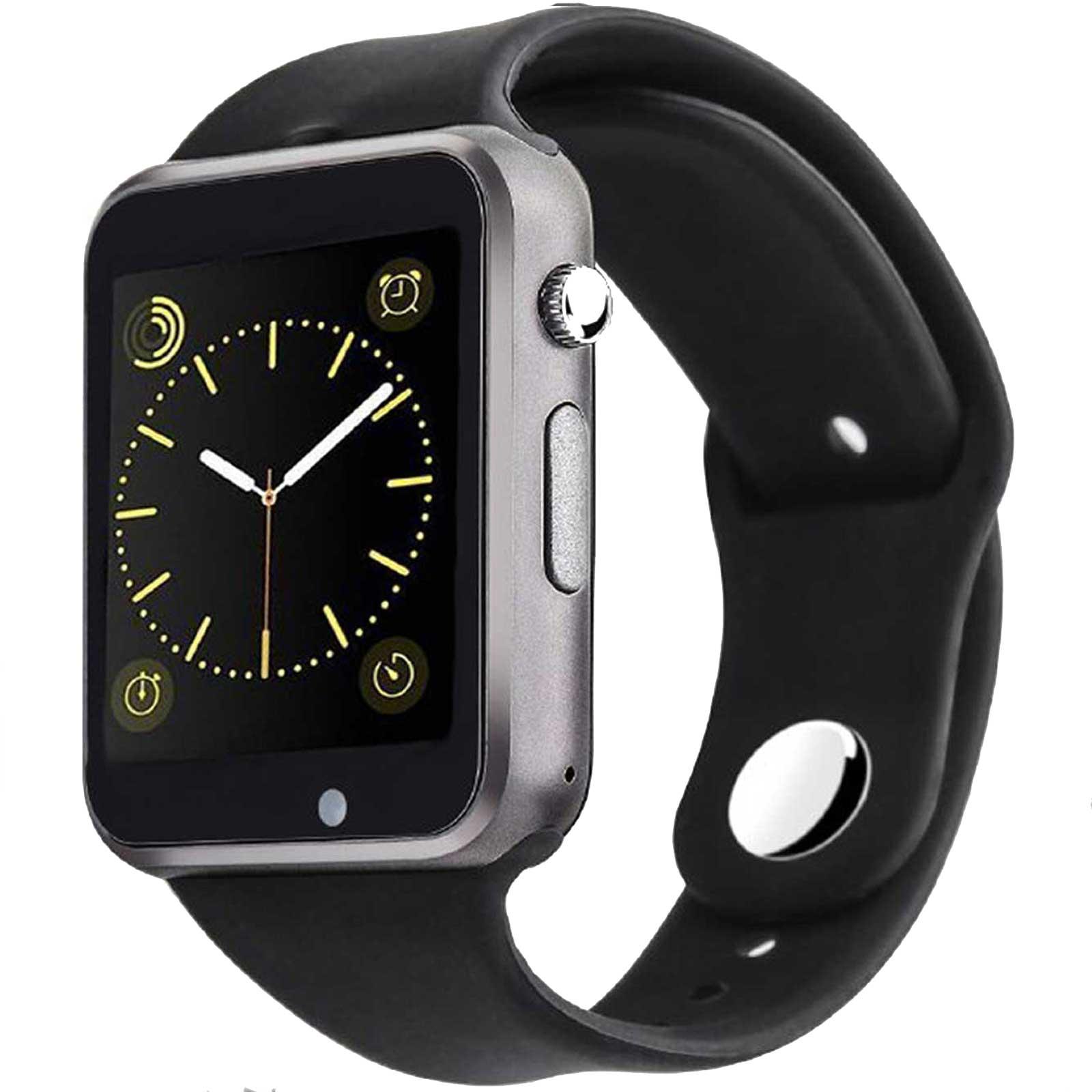 ساعت هوشمند مدل  A1  به همراه محافظ صفحه نمایش شیدتگ و شارژر اختصاصی