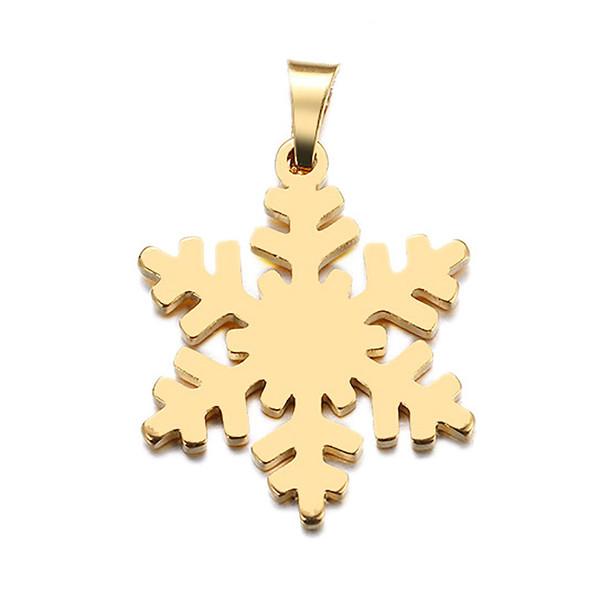 آویز گردنبند طلا 18 عیار جواهری میکا طرح برف کد 0110047