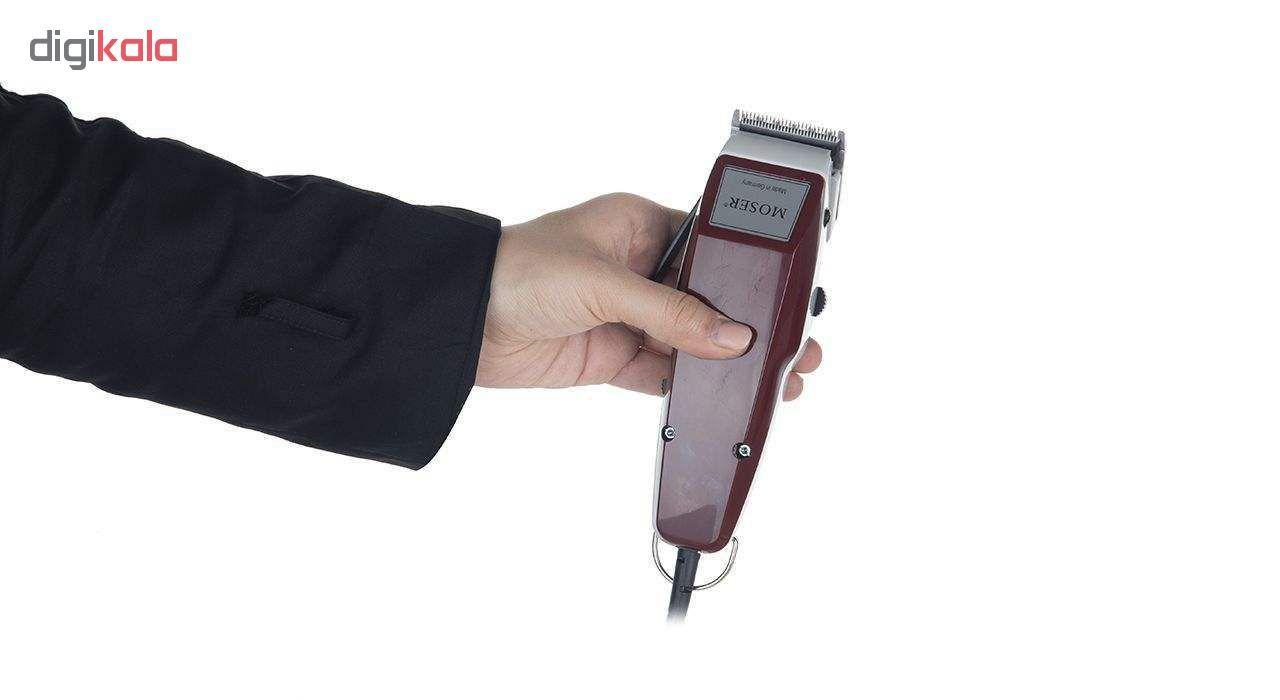 ماشین اصلاح سر و صورت  مدل 0050-1400 به همراه ست شانه 6 عددی main 1 6