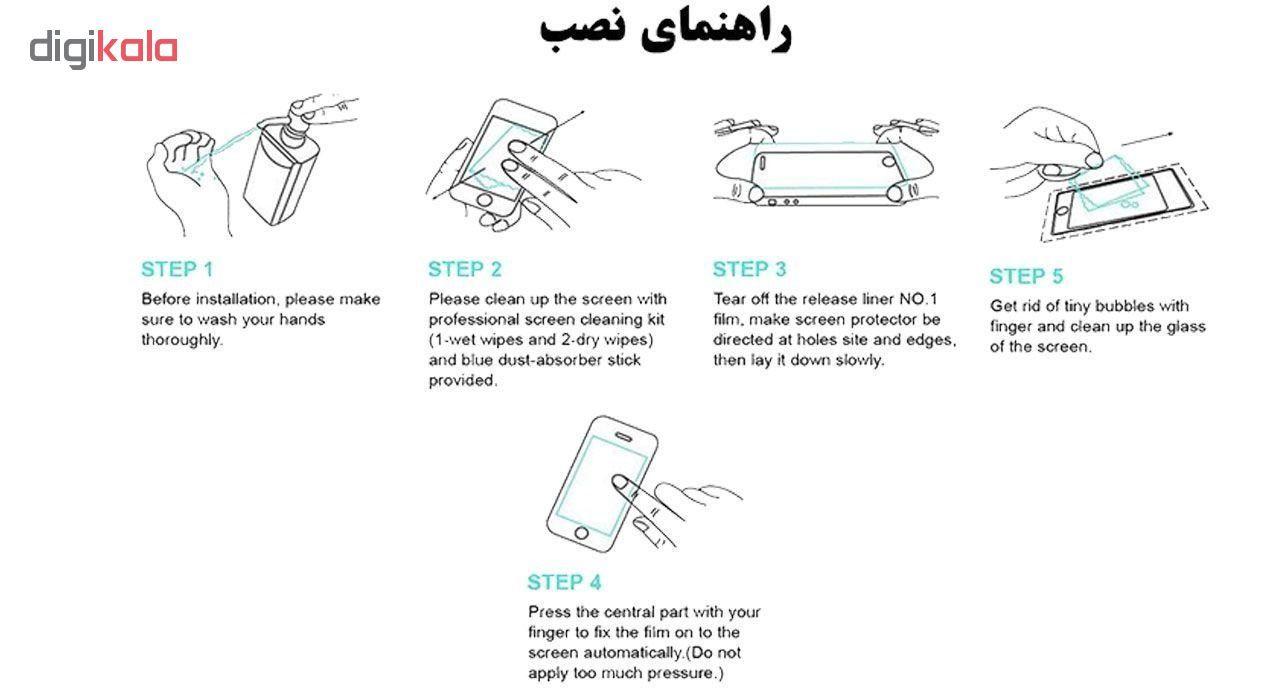محافظ صفحه نمایش 5D هورس مدل FAG مناسب برای گوشی موبایل سامسونگ Galaxy A10 بسته دو عددی main 1 9