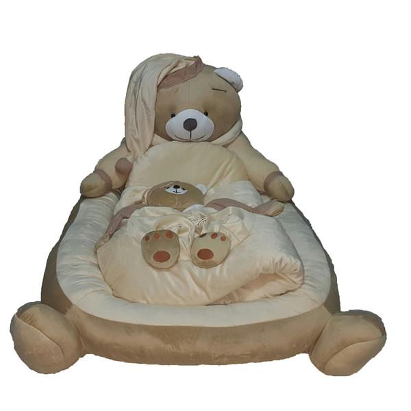 سرویس خواب کودک  3 تکه  طرح خرس بهمراه یک عدد توپ امید  کد t77285493