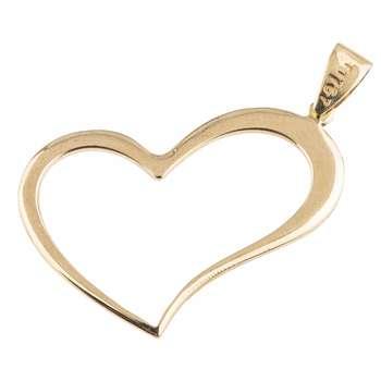 آویز گردنبند طلا 18 عیار زنانه کد p115