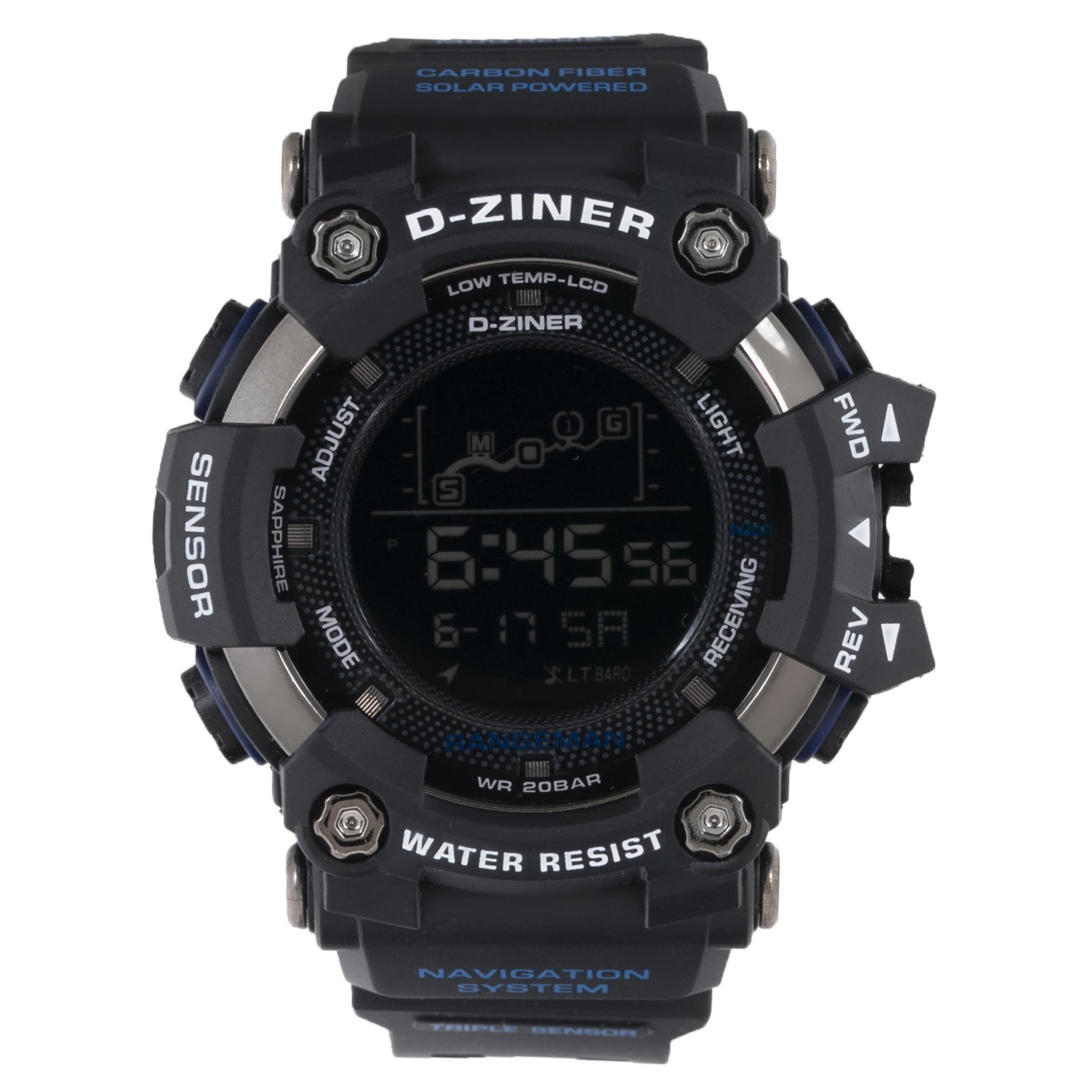 ساعت مچی دیجیتال مردانه دیزاینر مدل D-Z7025
