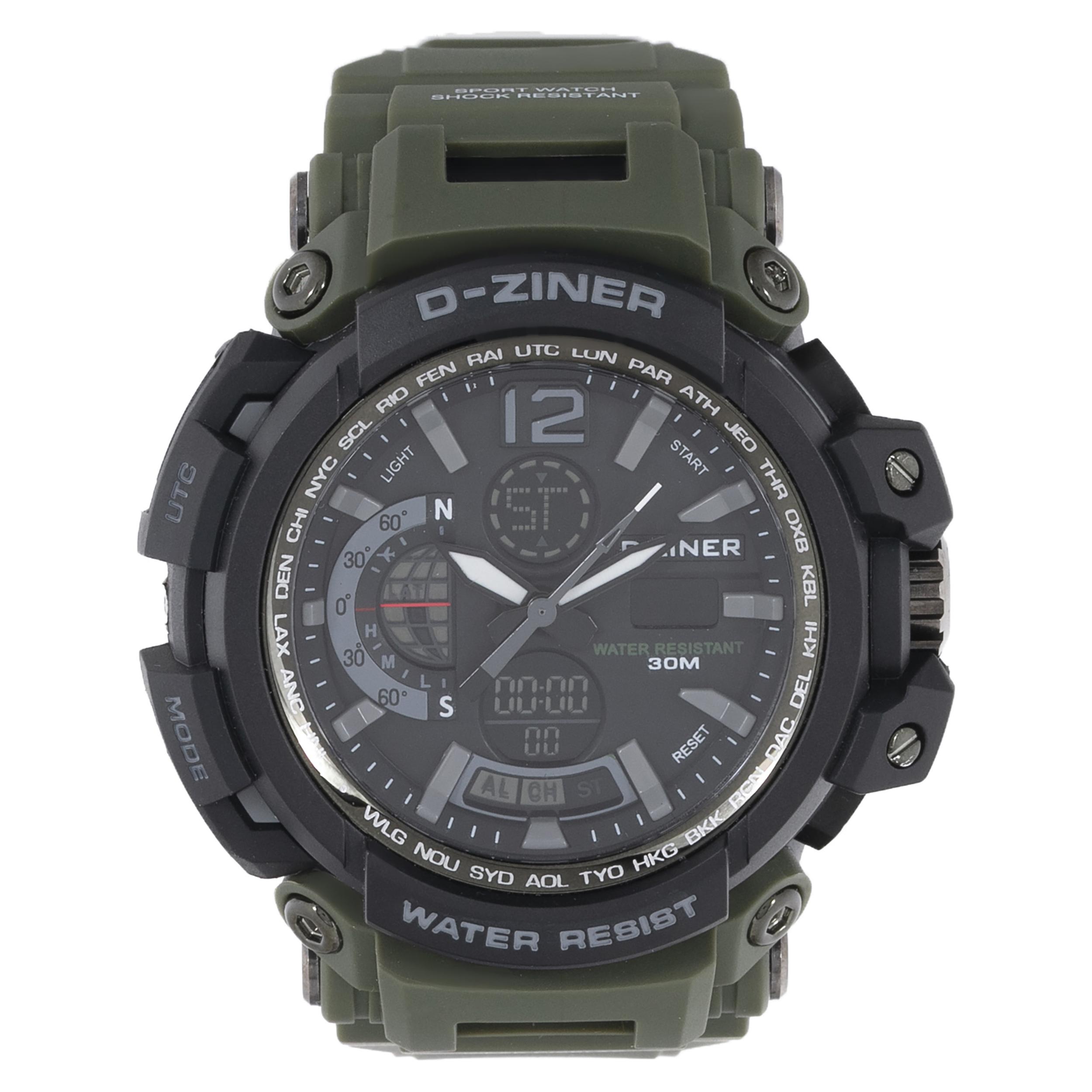 ساعت مچی عقربه ای مردانه دیزاینر مدل D-Z7009 45