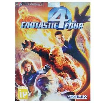 بازی Fantastic Four مخصوص ps2