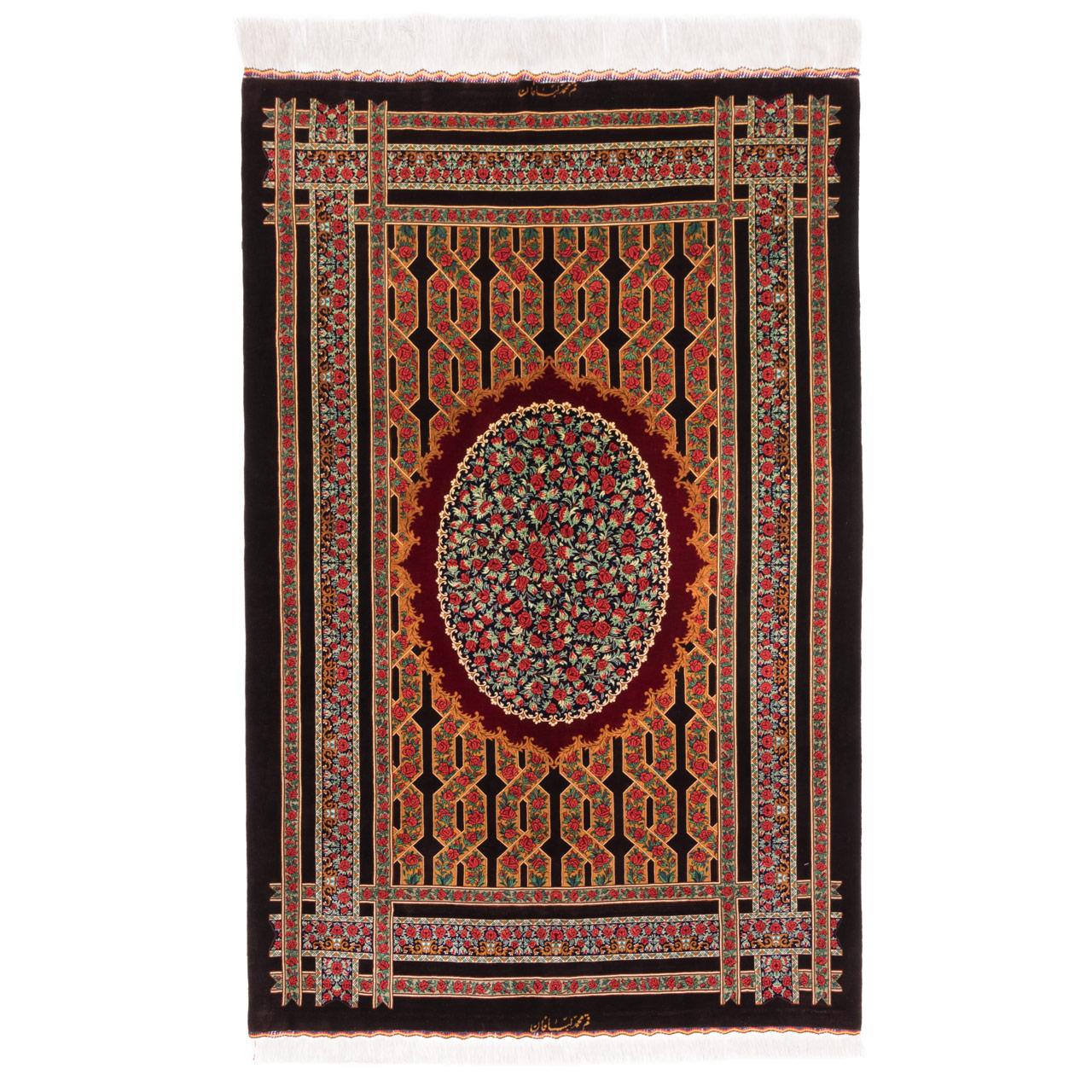 فرش دستباف ذرع و نیم سی پرشیا کد 131834