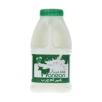 شیر کم چرب مانیزان حجم 500 میلی لیتر
