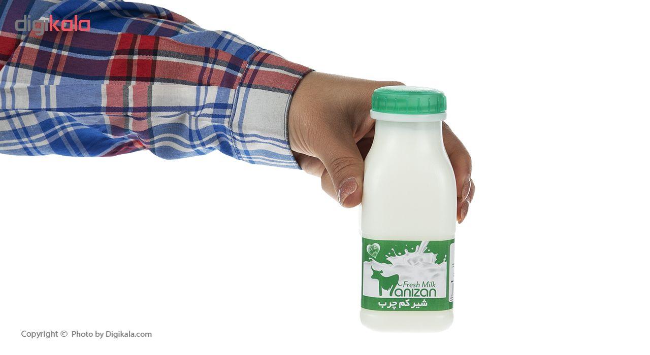 شیر کم چرب مانیزان حجم 230 میلی لیتر main 1 3