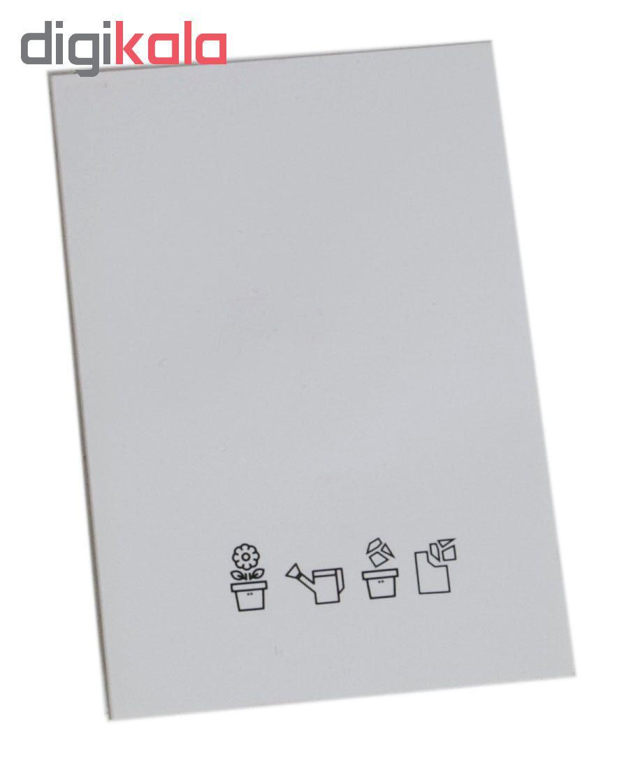 کارت پستال مدل کاشتنی طرح تولدت مبارک