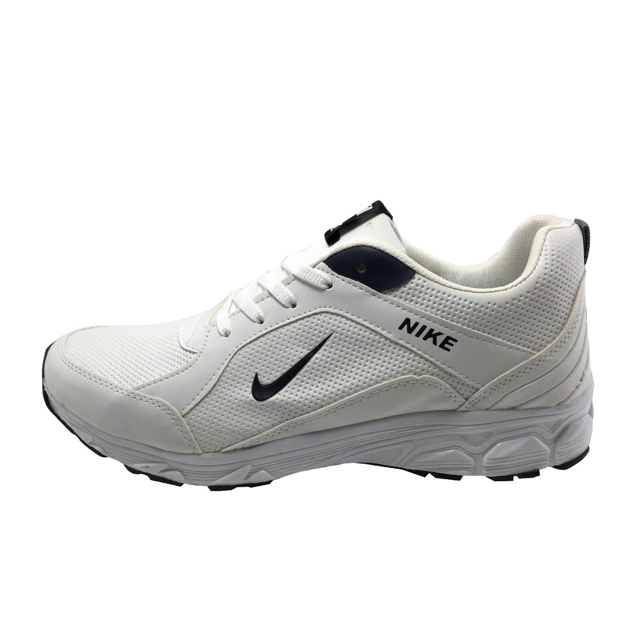 عکس کفش مخصوص پیاده روی مردانه مدل B168 رنگ سفید