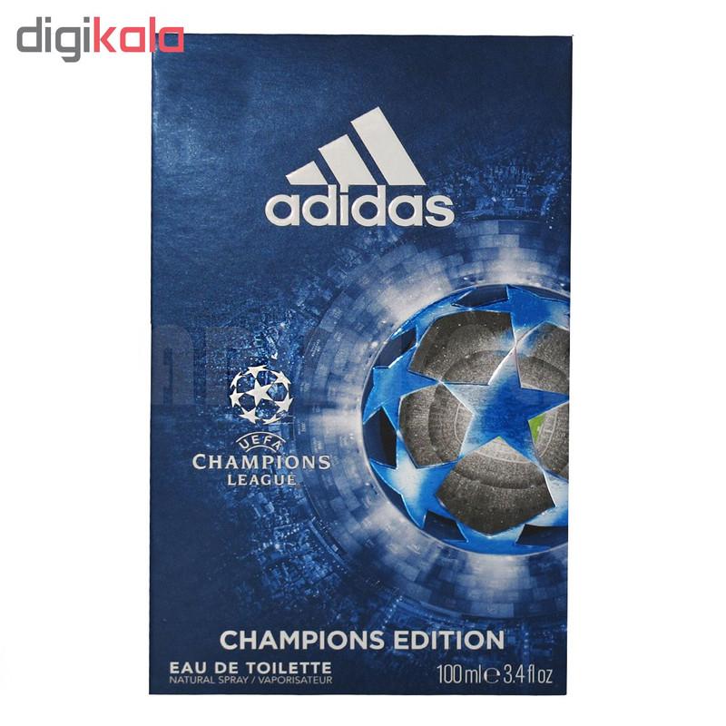 ادو تویلت مردانه آدیداس مدل  UEFA CHAMPION LEAGE حجم 100 میلی لیتر
