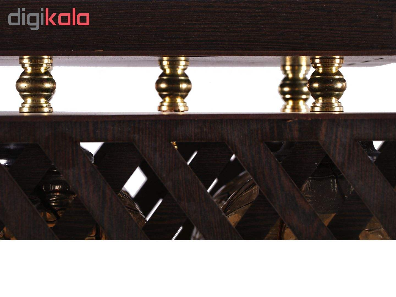 لوستر سقفی سهیل مدل کیوب
