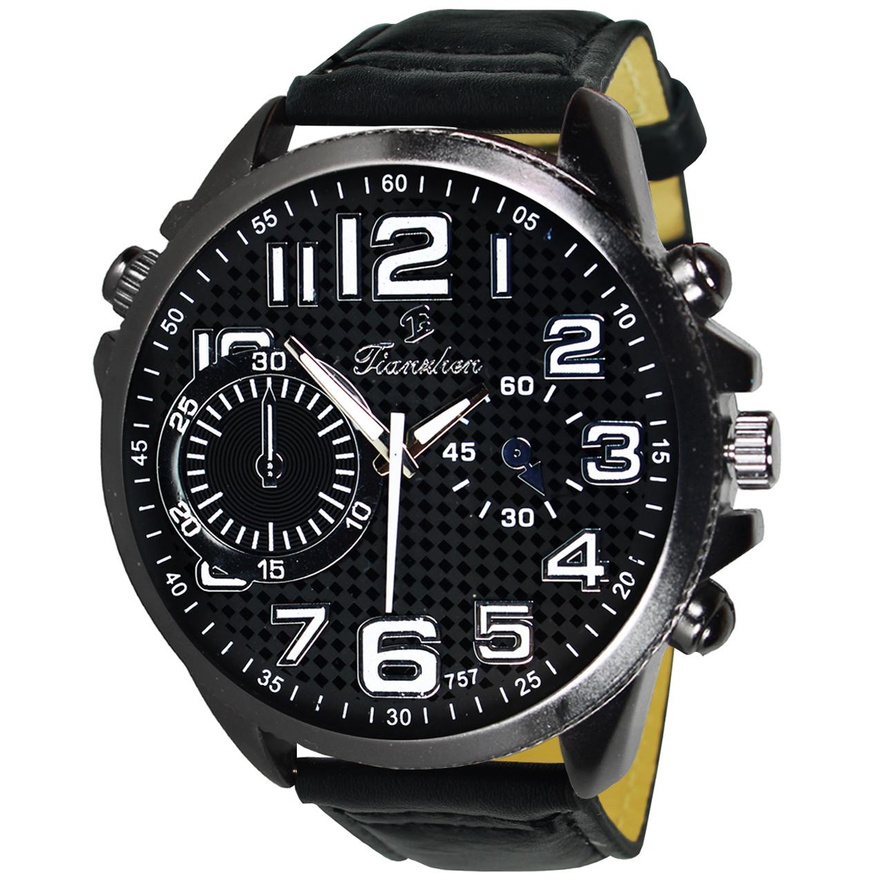 ساعت مچی عقربه ای مردانه فیانچن مدل Series 5-22 37