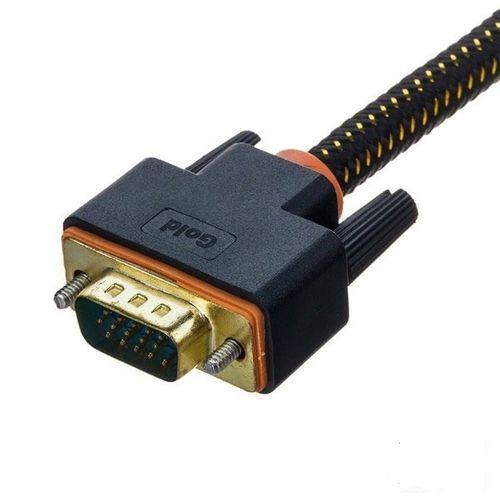کابل  VGA گلد  مدل d347 طول 3 متر