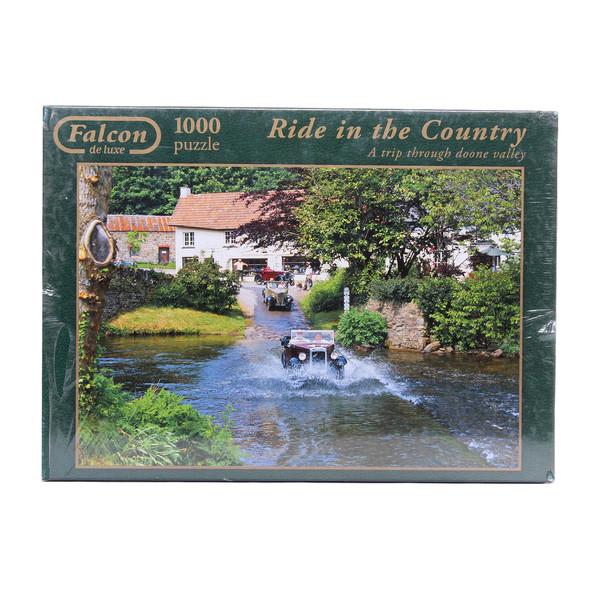 پازل 1000 تکه جامبو مدل Ride in the Country 8434