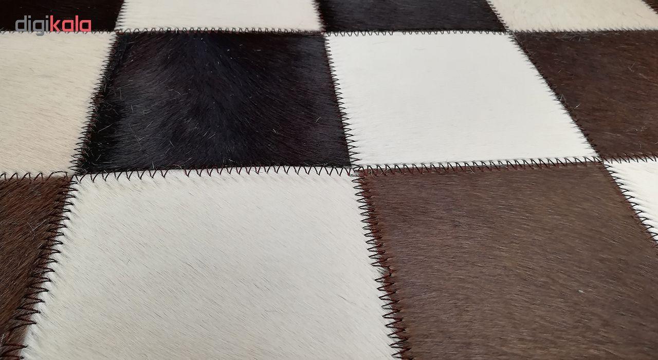 کلاژ فرش پوست و چرم کمالی مدل AD-00352