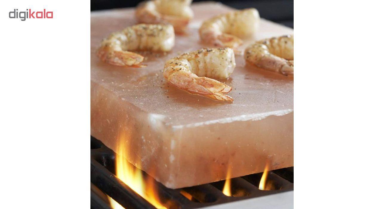 تخته گوشت و پخت و پز سنگ نمک مدل cook main 1 2