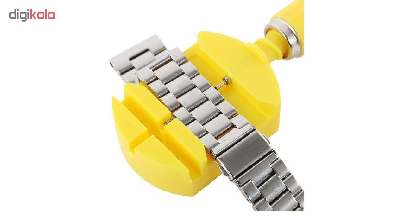 بند ساعت هوشمند مدل bls 3 مناسب برای ساعت هوشمند Gear S3 و galaxy watch 46 به همراه آچار و محافظ صفحه نمایش