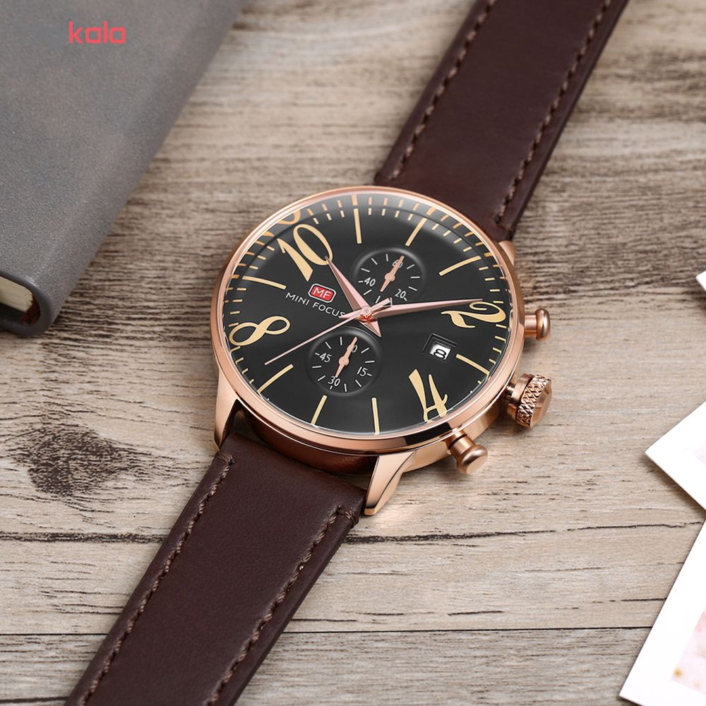 ساعت مچی عقربه ای مردانه مینی فوکوس مدل mf0135g.02