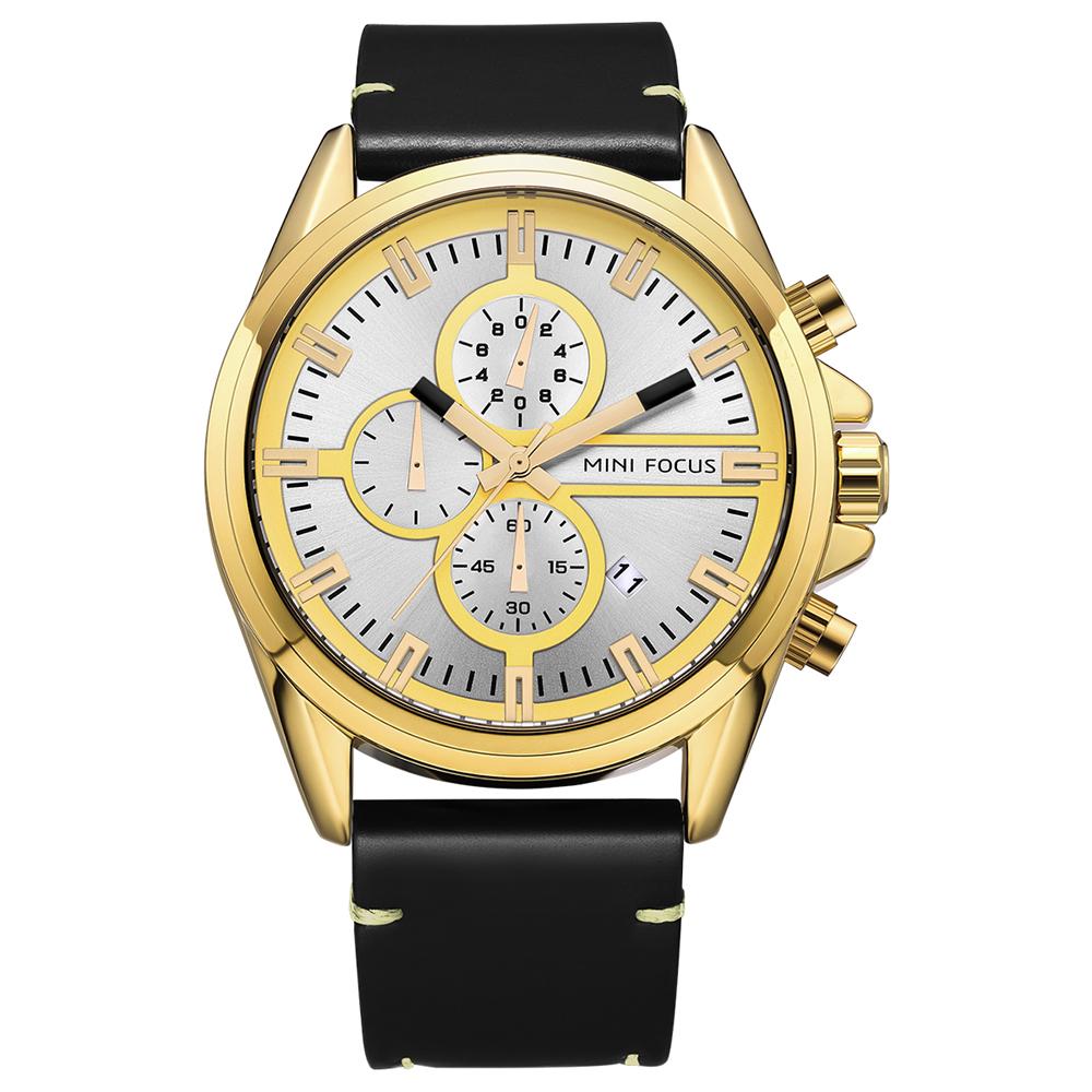 ساعت مچی عقربه ای مردانه مینی فوکوس مدل mf0130g.01