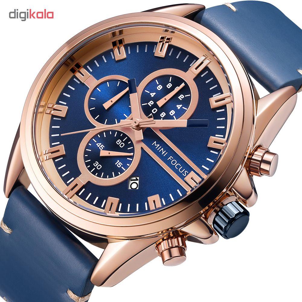 خرید ساعت مچی عقربه ای مردانه مینی فوکوس مدل mf0130g.03