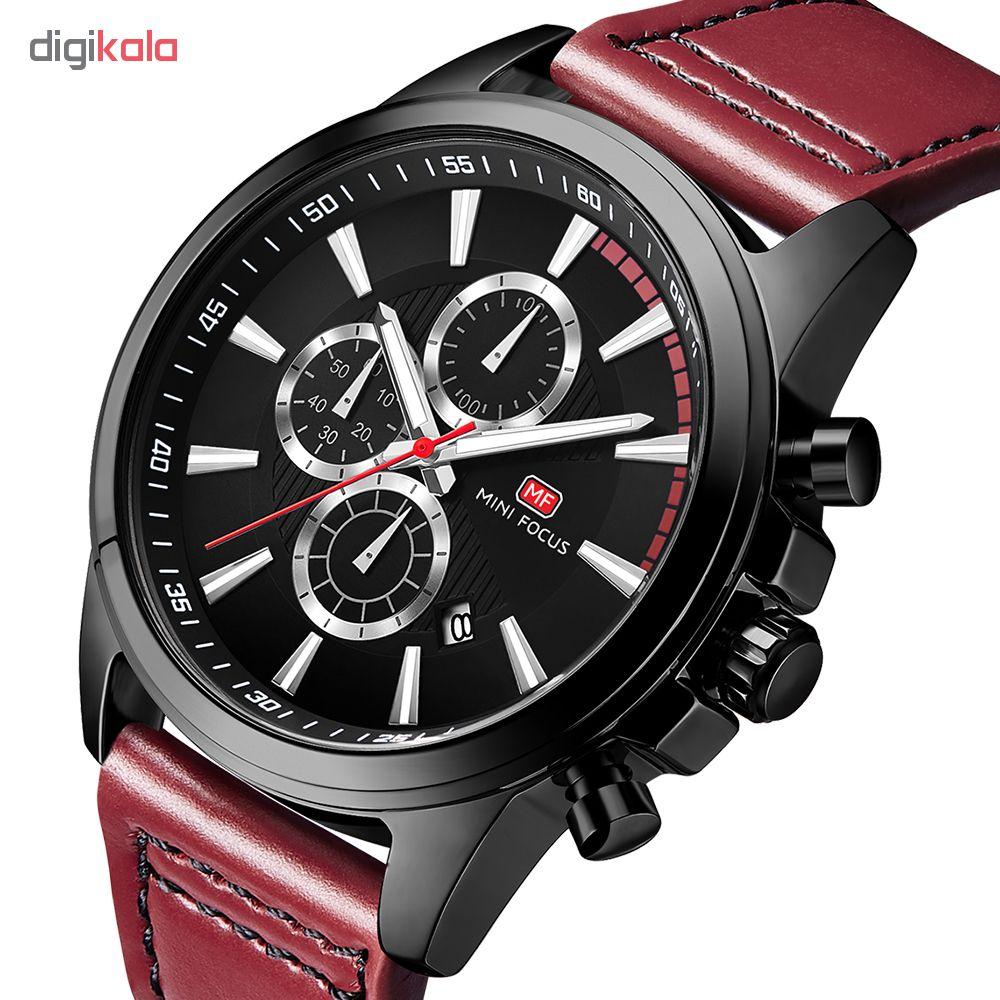 خرید ساعت مچی عقربه ای مردانه مینی فوکوس مدل mf0129g.04