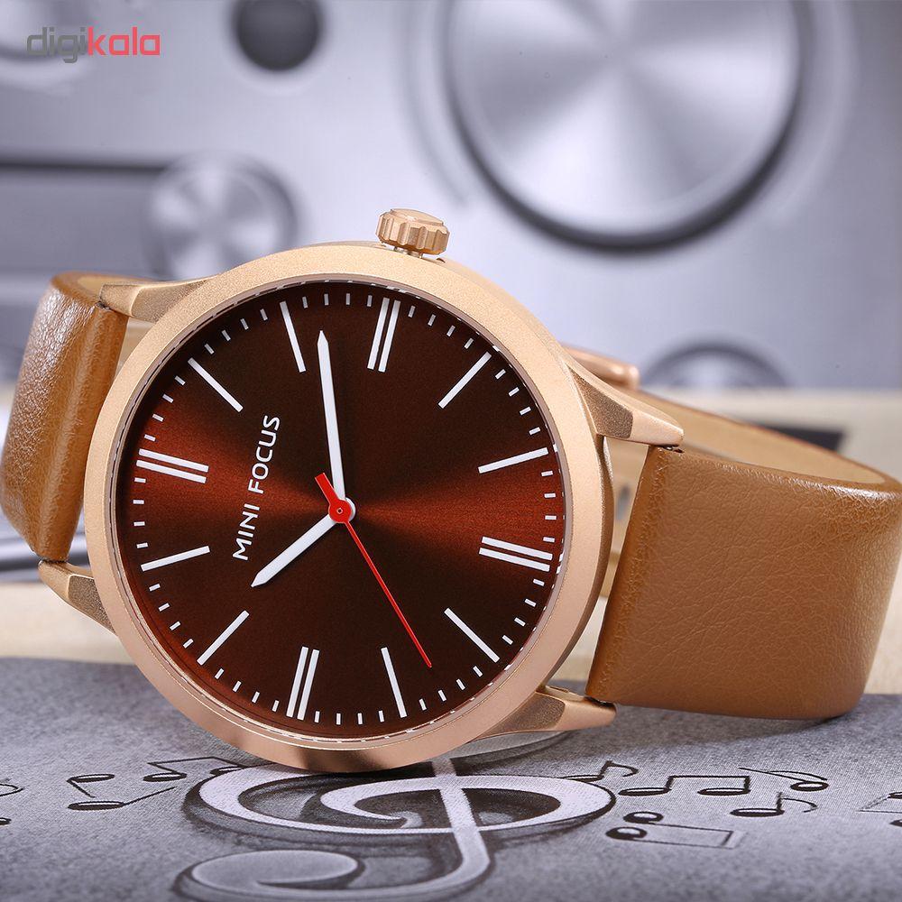 کد تخفیف                                      ساعت مچی عقربه ای مردانه مینی فوکوس مدل mf0058g.01